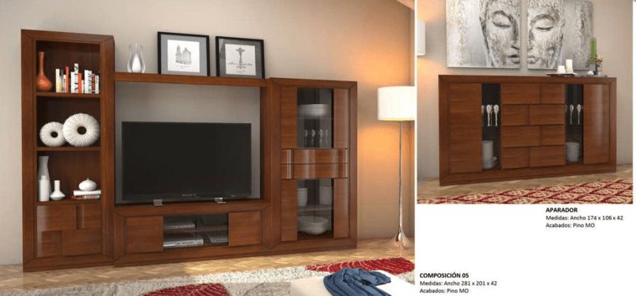 hacer mueble tv madera Muebles De Madera De Roble Muebles Los Barriales