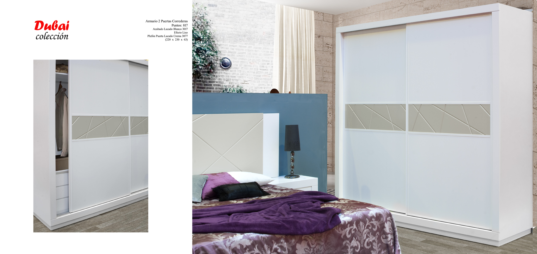 07 Dubai Dormitorio Muebles los barriales