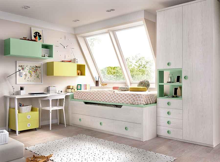 H103_W Dormitorio juvenil muebles los barriales 2018
