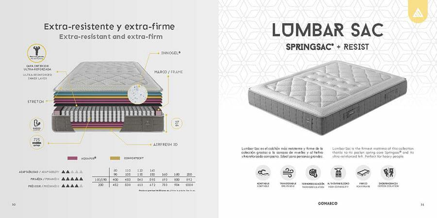 Catalogo colchones Gomarco SAC muebles los barriales 2019 16
