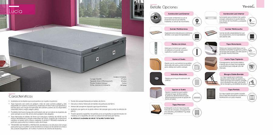 Catalogo colchones y canapes muebles los barriales 2019 010