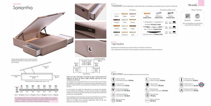 Catalogo colchones y canapes muebles los barriales 2019 013