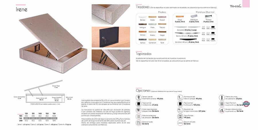 Catalogo colchones y canapes muebles los barriales 2019 015