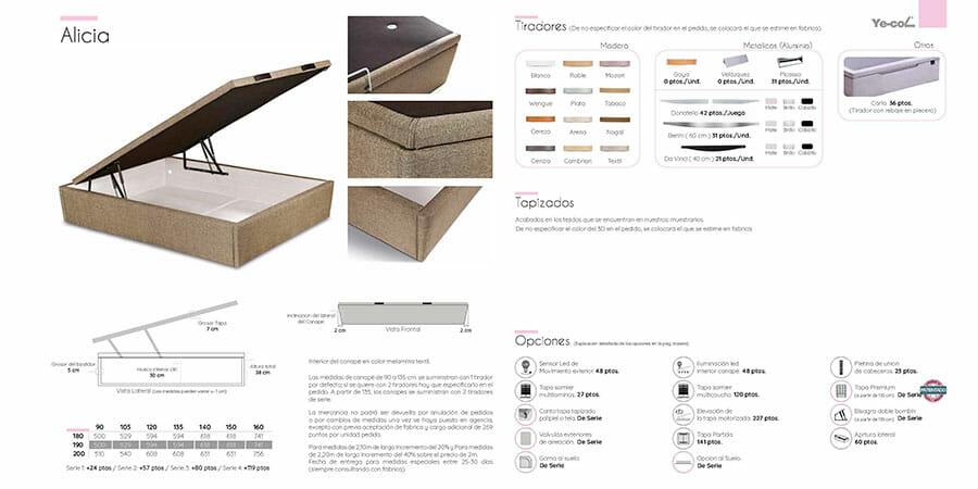 Catalogo colchones y canapes muebles los barriales 2019 021