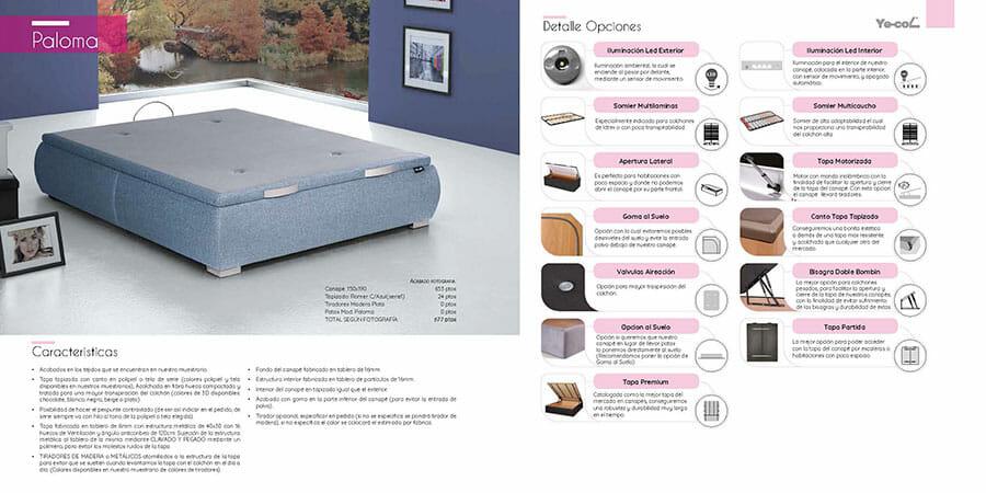 Catalogo colchones y canapes muebles los barriales 2019 026