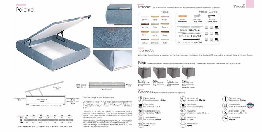 Catalogo colchones y canapes muebles los barriales 2019 027