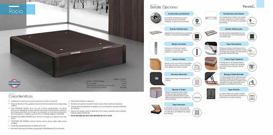 Catalogo colchones y canapes muebles los barriales 2019 048