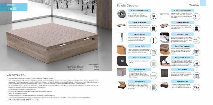 Catalogo colchones y canapes muebles los barriales 2019 056