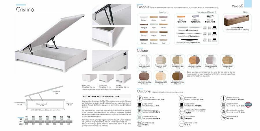 Catalogo colchones y canapes muebles los barriales 2019 069