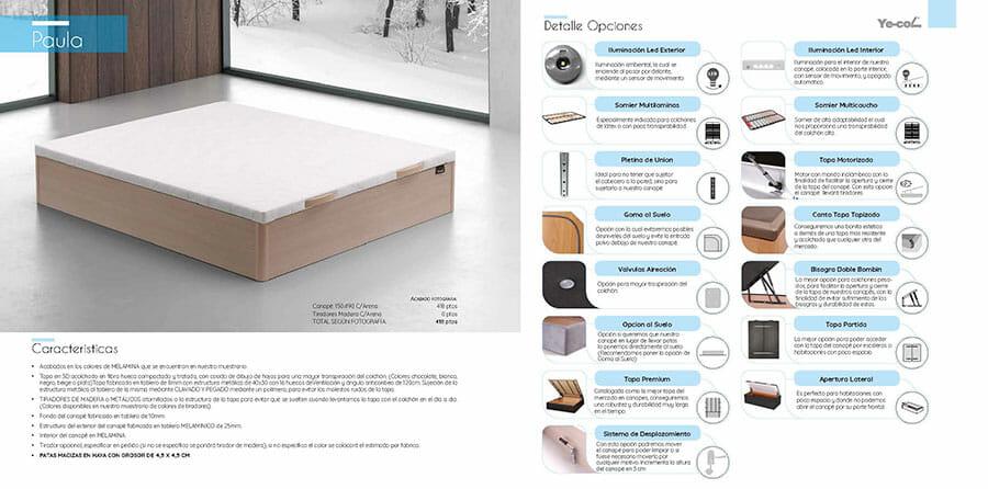Catalogo colchones y canapes muebles los barriales 2019 070