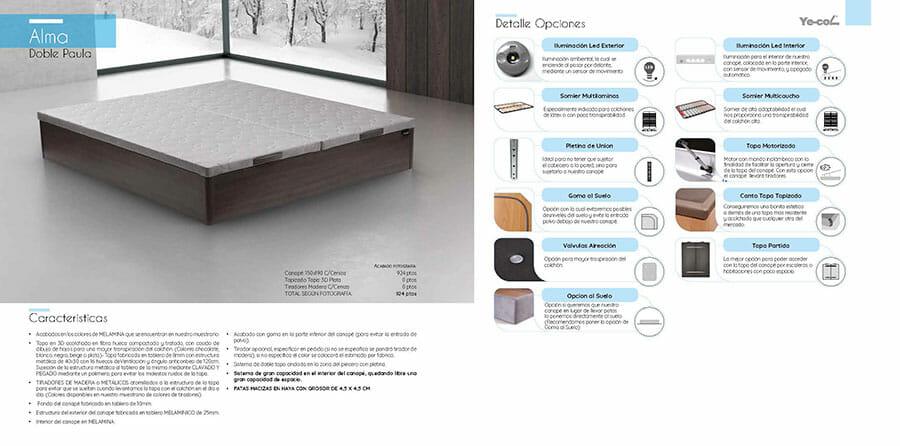 Catalogo colchones y canapes muebles los barriales 2019 072