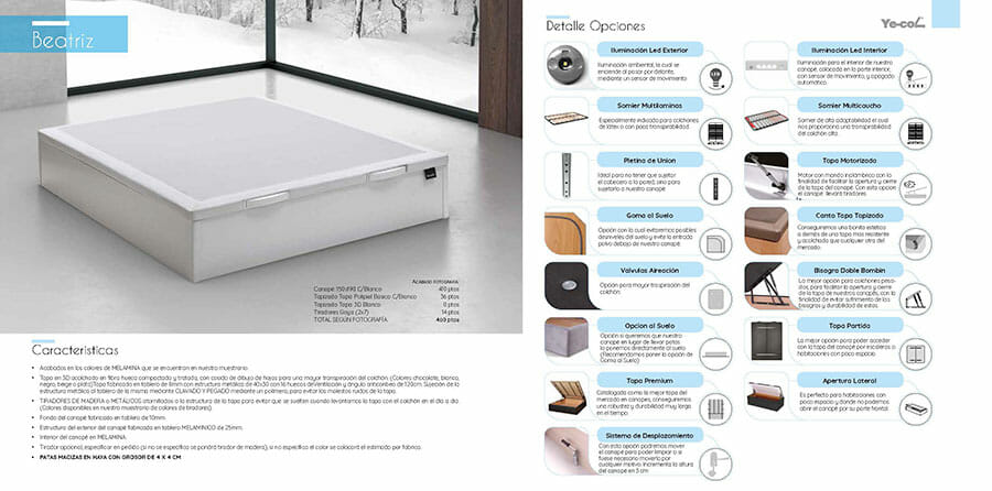 Catalogo colchones y canapes muebles los barriales 2019 074