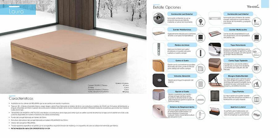 Catalogo colchones y canapes muebles los barriales 2019 078