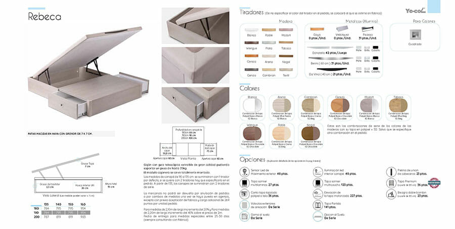 Catalogo colchones y canapes muebles los barriales 2019 083