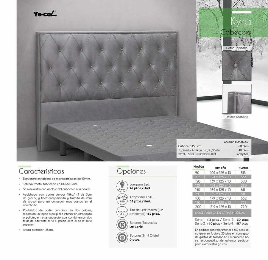 Catalogo colchones y canapes muebles los barriales 2019 088