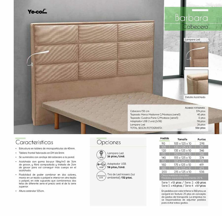 Catalogo colchones y canapes muebles los barriales 2019 090