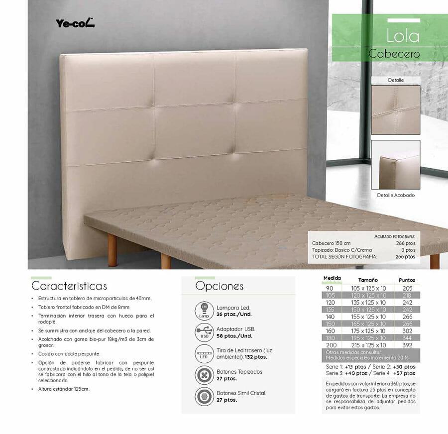 Catalogo colchones y canapes muebles los barriales 2019 094